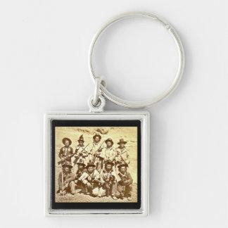 Modoc Indians by Eadweard J. Muybridge Keychain