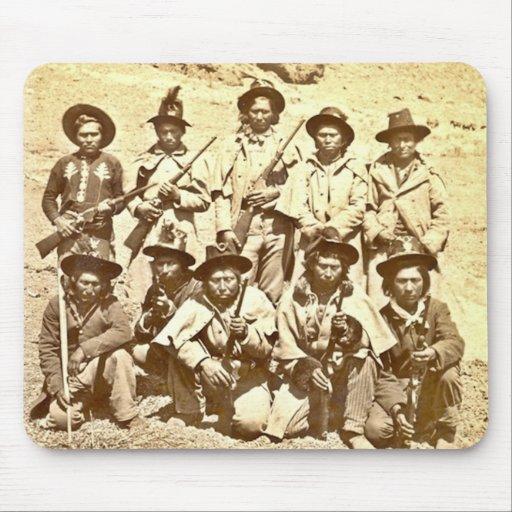 Modoc Indians by Eadweard J. Muybridge Mouse Pads