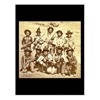 Modoc Indians by Eadweard J. Muybridge Postcard