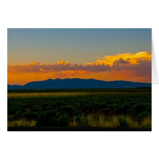 -Modoc valley California Card