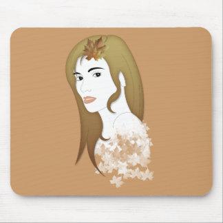 Modron the Celtic goddess of autumn Mouse Pad