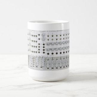 Modular Synthesizer Classic White Coffee Mug