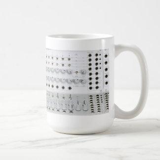 Modular Synthesizer Coffee Mugs