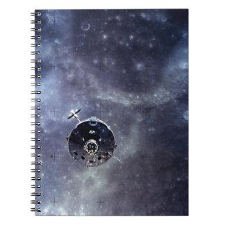 Módulo de Apolo 16 Libro De Apuntes Con Espiral