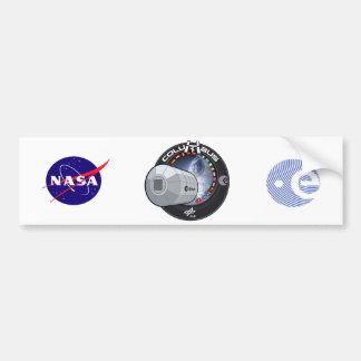 Módulo de Columbus ISS Pegatina Para Auto