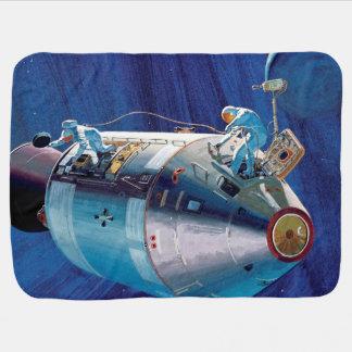 Módulo de comando de Apolo 15 Manta De Bebé