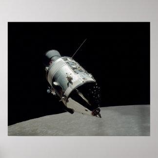 Módulo de comando de Apolo 17 Posters