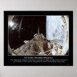Módulo del espacio de STS-90 NeuroLab Poster