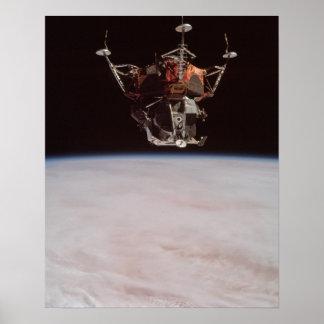 """Módulo lunar """"araña """" de Apolo 9 Impresiones"""