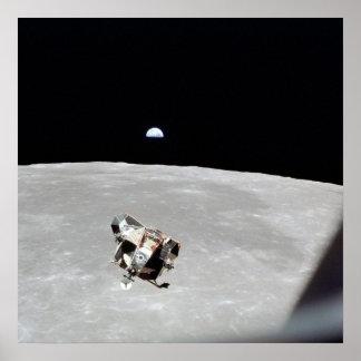 Módulo lunar de Apolo 11 Póster
