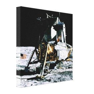 Módulo lunar de Apolo 14 Lienzo Envuelto Para Galerias