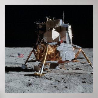 Módulo lunar de Apolo 14 Poster