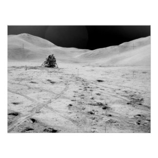 Módulo lunar de Apolo 15 Poster