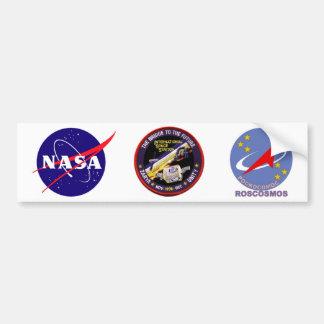 Módulos de la Zarya-Unidad del ISS Pegatina Para Auto