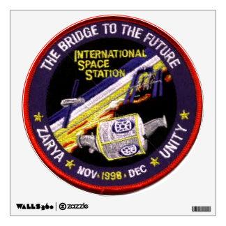 Módulos de la Zarya-Unidad del ISS Vinilo