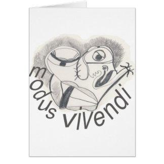 MODUS VIVENDI CARD