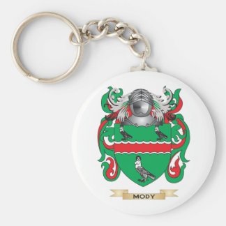 Mody Coat of Arms (Family Crest) Key Chain
