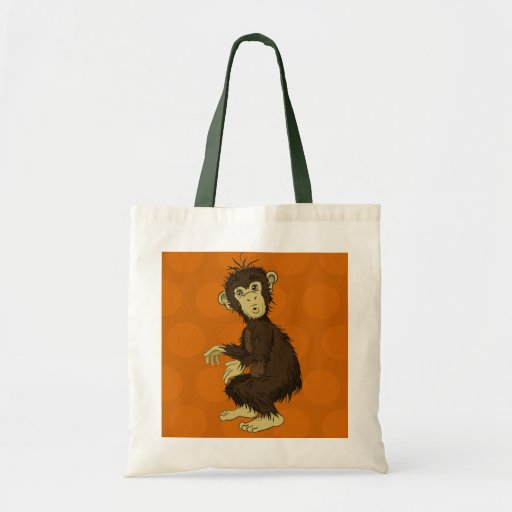 Moe Monkey Canvas Bag