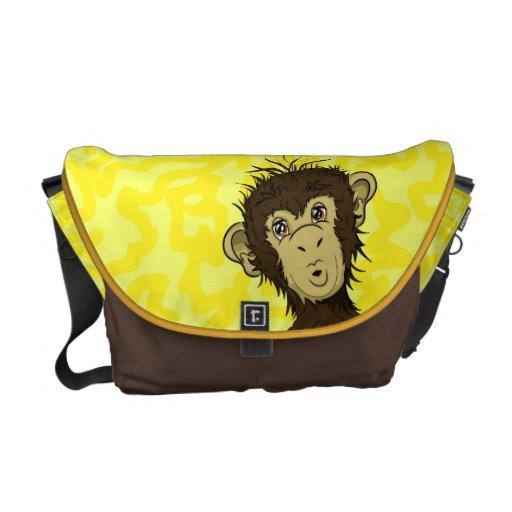 Moe Monkey Messenger Bag