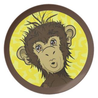 Moe Monkey Plate