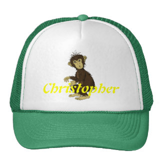 Moe Monkey Trucker Hat