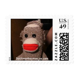 Moe Sock Monkey USPS Postage Stamps
