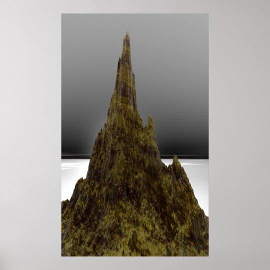 MOEBIUS MOUNTAIN POSTER