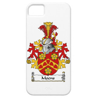 Moens Family Crest iPhone 5 Cases