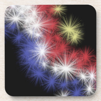 Moe's 4th of July Fireworks Coasters