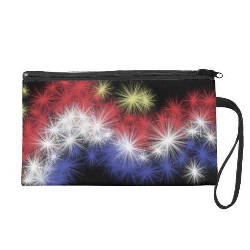 Moe's Fireworks Bag Wristlet
