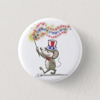 Moe's Happy 4th of July Button