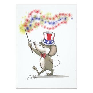 Moe's Happy 4th of July Invitation