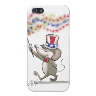 Moe's Happy 4th of July iPhone 5 Matte Finish Case