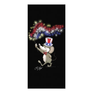 Moe's Happy 4th Of July Night Celebration Bookmark Rack Card