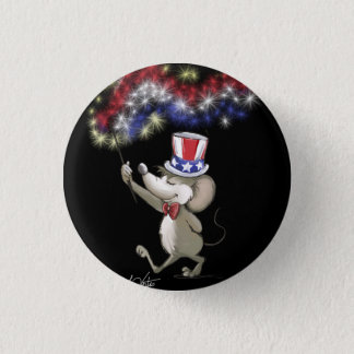 Moe's Happy 4th Of July Night Celebration Button