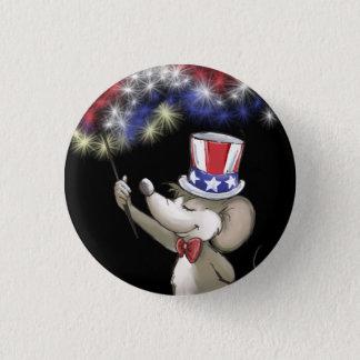 Moe's Happy 4th Of July Night Celebration Portrait Button