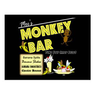 Moe's Monkey Bar Banana Splits Gifts and Apparel Postcard