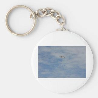Moewe im Flug Keychains