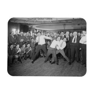 Mofa de Jack Dempsey que lucha contra Harry Imanes