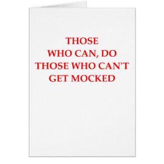 mofa tarjeta de felicitación