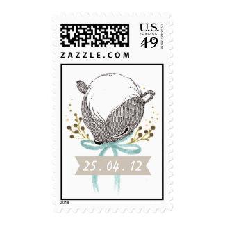 Mofeta caprichosa del bebé sellos postales