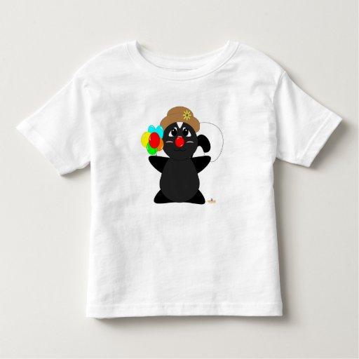 Mofeta Huggable del payaso T-shirt