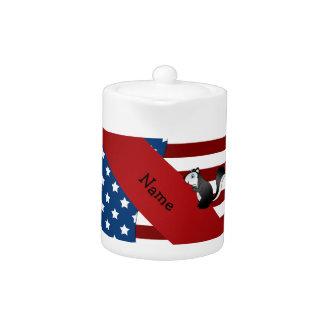 Mofeta patriótica conocida personalizada