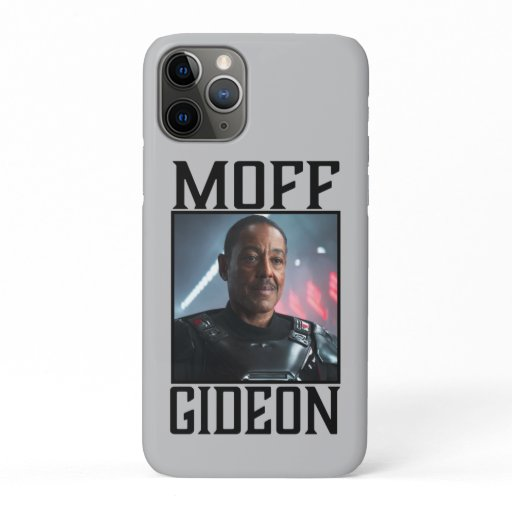 Moff Gideon Character Portrait iPhone 11 Pro Case