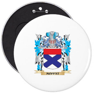 Moffat Coat of Arms - Family Crest Button