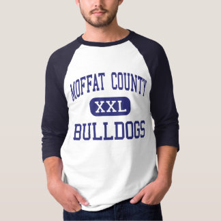 Moffat County - Bulldogs - High - Craig Colorado T-Shirt
