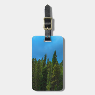 Moffat Road Colorado Pines with Blue Sky Bag Tag