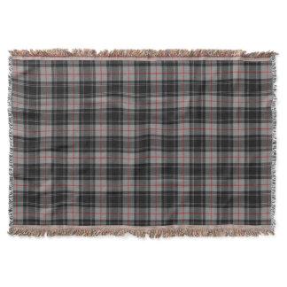Moffat Tartan Print Throw Blanket