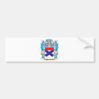 Moffett Coat of Arms - Family Crest Car Bumper Sticker