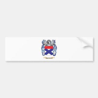 Moffett Coat of Arms (Family Crest) Car Bumper Sticker